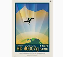 HD 40307g - NASA Travel Poster Unisex T-Shirt