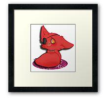 Chibi Foxy Framed Print