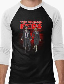Zombie Feds Men's Baseball ¾ T-Shirt