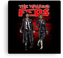 Zombie Feds Canvas Print