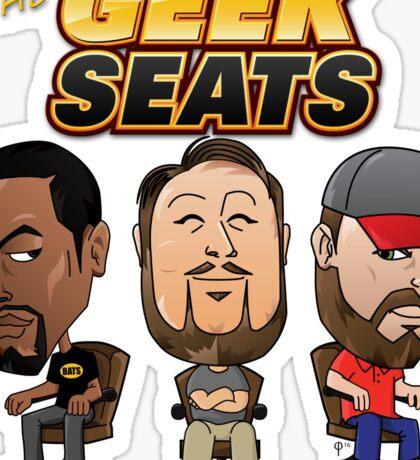 The Geeks Seats Sticker