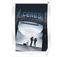 Retro NASA Space Poster - Ceres Poster
