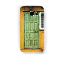 The Green Door Samsung Galaxy Case/Skin