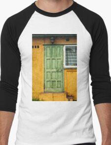 The Green Door Men's Baseball ¾ T-Shirt
