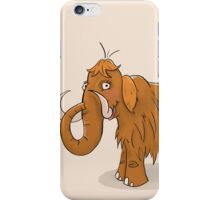 Bristle The Mammoth iPhone Case/Skin
