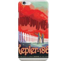 Kepler-186f - NASA Travel Poster iPhone Case/Skin
