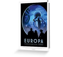Europa: Discover Life Under the Ice Greeting Card