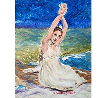 Riverbed Dancer Photographic Print