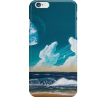 Terraformed moon beach: Mare Tranquillitatis iPhone Case/Skin