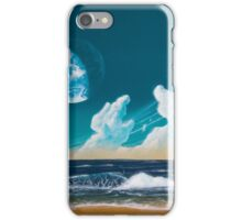 Terraformed moon beach: Mare Tranquillitatis iPhone Case/Skin