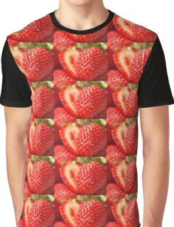 Strawberries Graphic T-Shirt