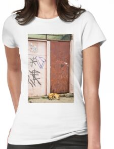 The Dog's Door Womens Fitted T-Shirt