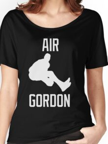 Air Gordon (White) Women's Relaxed Fit T-Shirt