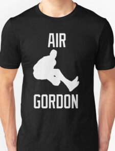 Air Gordon (White) Unisex T-Shirt