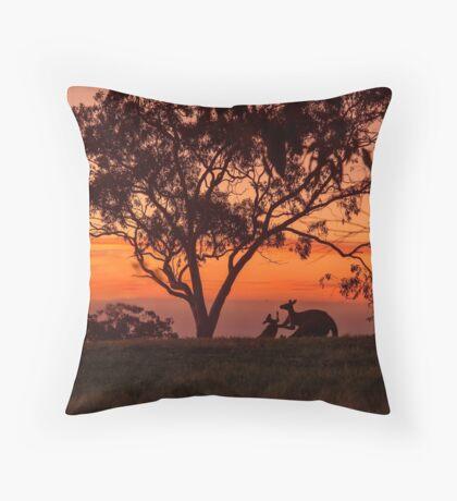 Australiana Throw Pillow