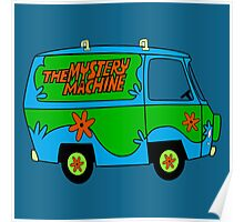 THE MYSTERY MACHINE : CLASSIC CAR Poster