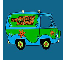 THE MYSTERY MACHINE : CLASSIC CAR Photographic Print