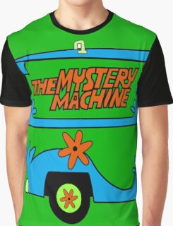 THE MYSTERY MACHINE : CLASSIC CAR Graphic T-Shirt