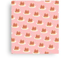 Pancake Pattern Canvas Print