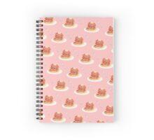 Pancake Pattern Spiral Notebook