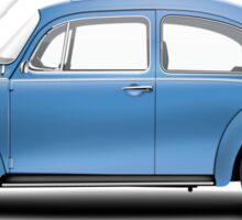 1975 Volkswagen Super Beetle - Ancona Blue Metallic Sticker