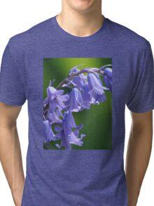 Violet-Blue English Bluebells Tri-blend T-Shirt