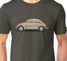 1975 Volkswagen Super Beetle - Harvest Gold Metallic Unisex T-Shirt