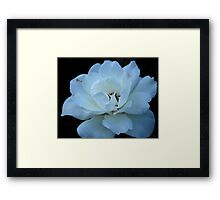 imperfection doesn't mean you aren't beautiful. Framed Print
