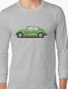 1975 Volkswagen Super Beetle - Viper Green Metallic Long Sleeve T-Shirt