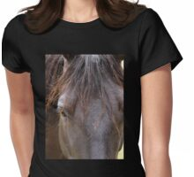 Hello, Beautiful ~ Horse Portrait Womens Fitted T-Shirt