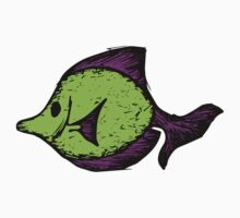 Goofy Fish One Piece - Short Sleeve