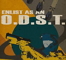 Enlist As An O.D.S.T Yellow by SoloCompass