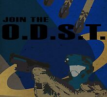 Enlist As An O.D.S.T. Blue by SoloCompass