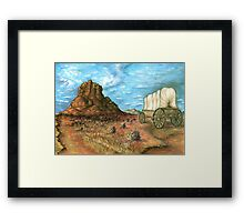 Sedona Arizona - Watercolor Landscape Painting Framed Print