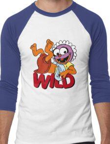 Muppet Babies - Baby Animal - Wild Men's Baseball ¾ T-Shirt