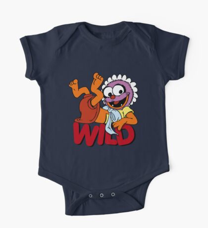 Muppet Babies - Baby Animal - Wild One Piece - Short Sleeve