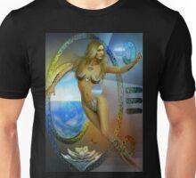 sacred feminine  two re-edited Unisex T-Shirt