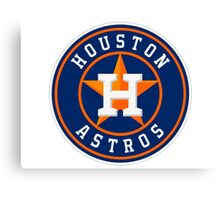 HOUSTON ASTROS SIMPLE LOGO Canvas Print
