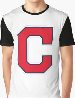 INDIANS CLEVELAND SIMPLE LOGO Graphic T-Shirt