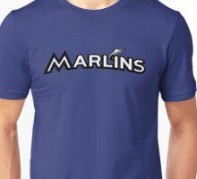 MIAMI MARLINS SIMPLE LOGO B/W Unisex T-Shirt