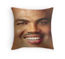 Charles Barkley Throw Pillow