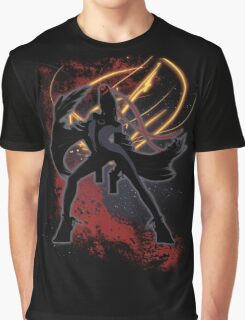 Super Smash Bros. Bayonetta (Original) Silhouette Graphic T-Shirt