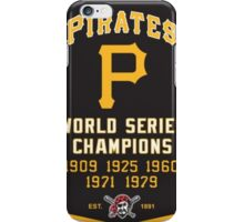 PIRATES HISTORIC CHAMPION iPhone Case/Skin