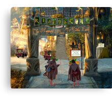 Rivendell- Happiest Place on Middle Earth Canvas Print