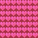Pink Hearts by haymelter