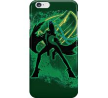 Super Smash Bros Red Bayonetta (Original) Silhouette iPhone Case/Skin