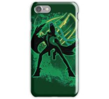Super Smash Bros Green Bayonetta (Original) Silhouette iPhone Case/Skin