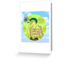 The Great Kishibe Rohan Greeting Card