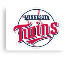 MINNESOTA TWINS BASEBALL Canvas Print