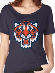 THE DETROIT TIGERS Women's Relaxed Fit T-Shirt